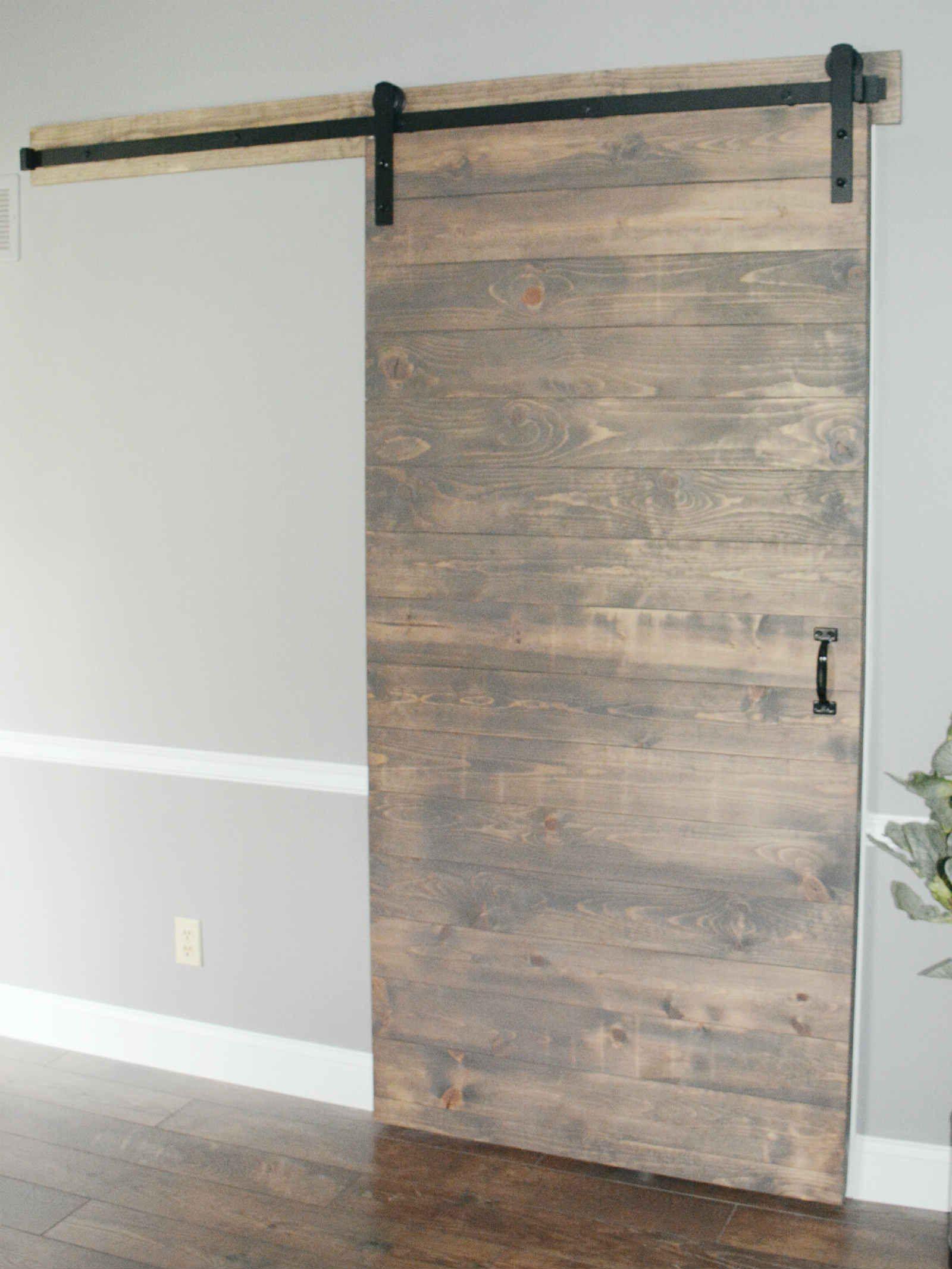 Barn Door Basement Horizontal Plan Plank Construction In 2020 Sliding Doors Interior Barn Doors Sliding Barn Door