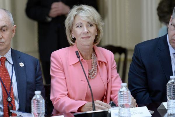 Betsy DeVos slams Biden plan to cancel student-loan debt