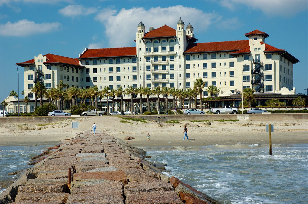 Crystal Beach Galveston Texas At Five Areas In