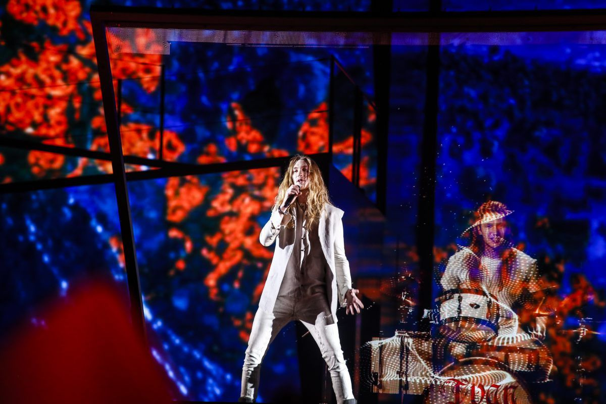 Belarus: IVAN's first rehearsal | Photo downloads | Eurovision Song Contest