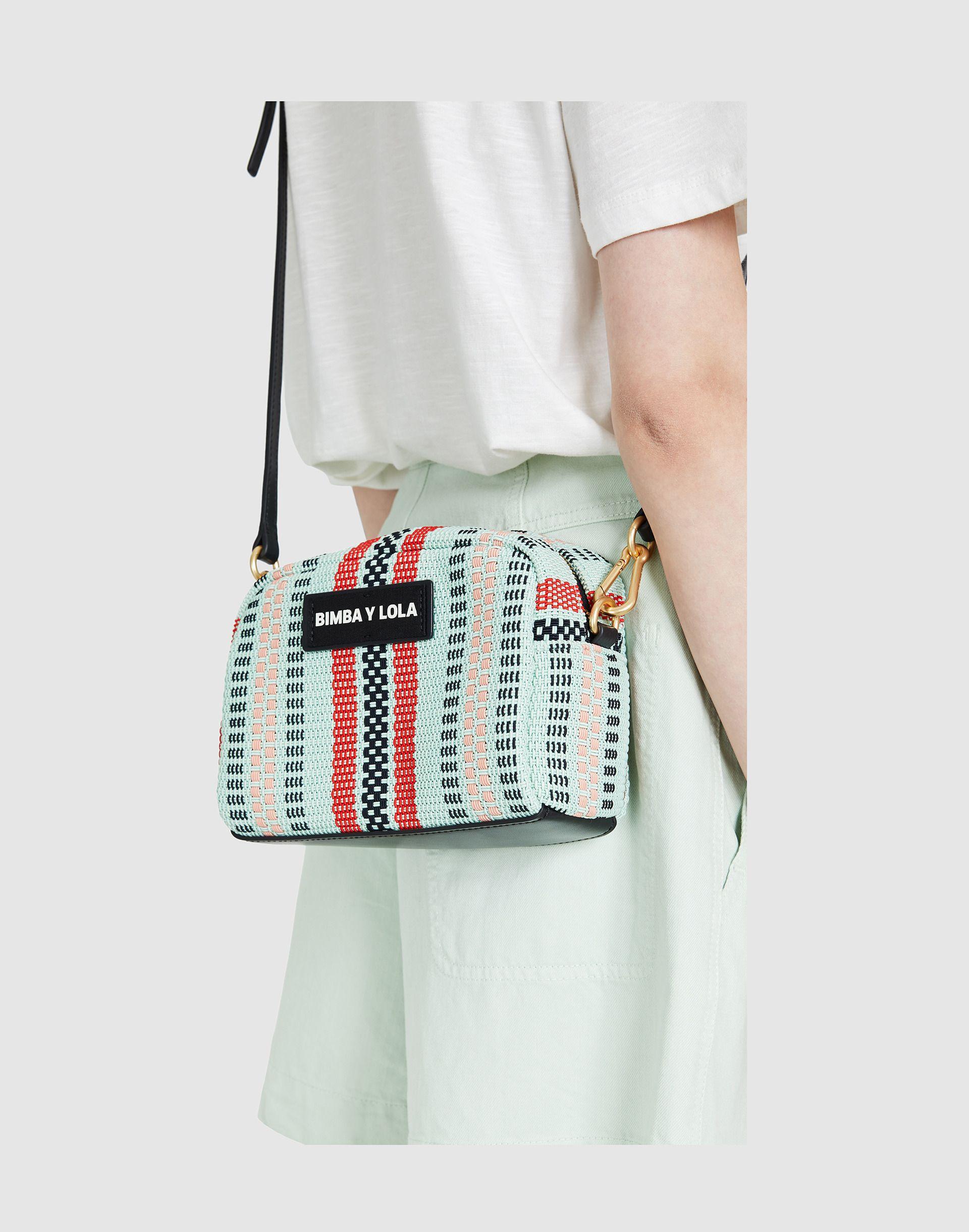 moda de lujo llegando comprar lo mejor Bolso bandolera trenzado turquesa | /\/\_me lo pidO_/\/\ en ...