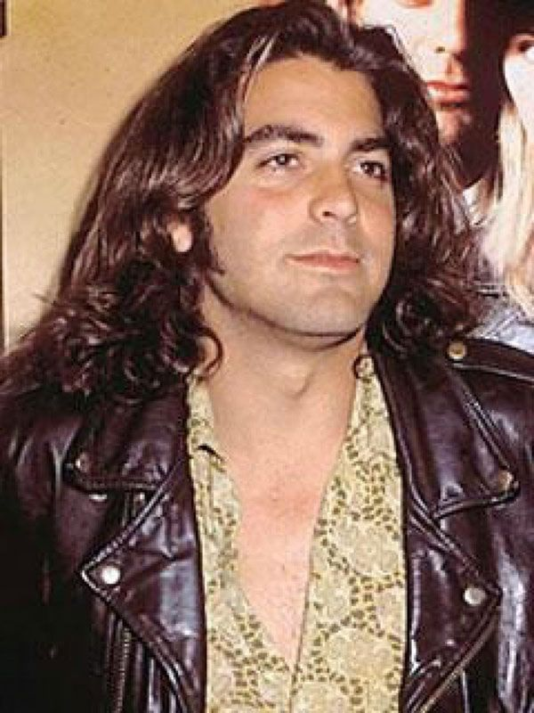 Young george clooney