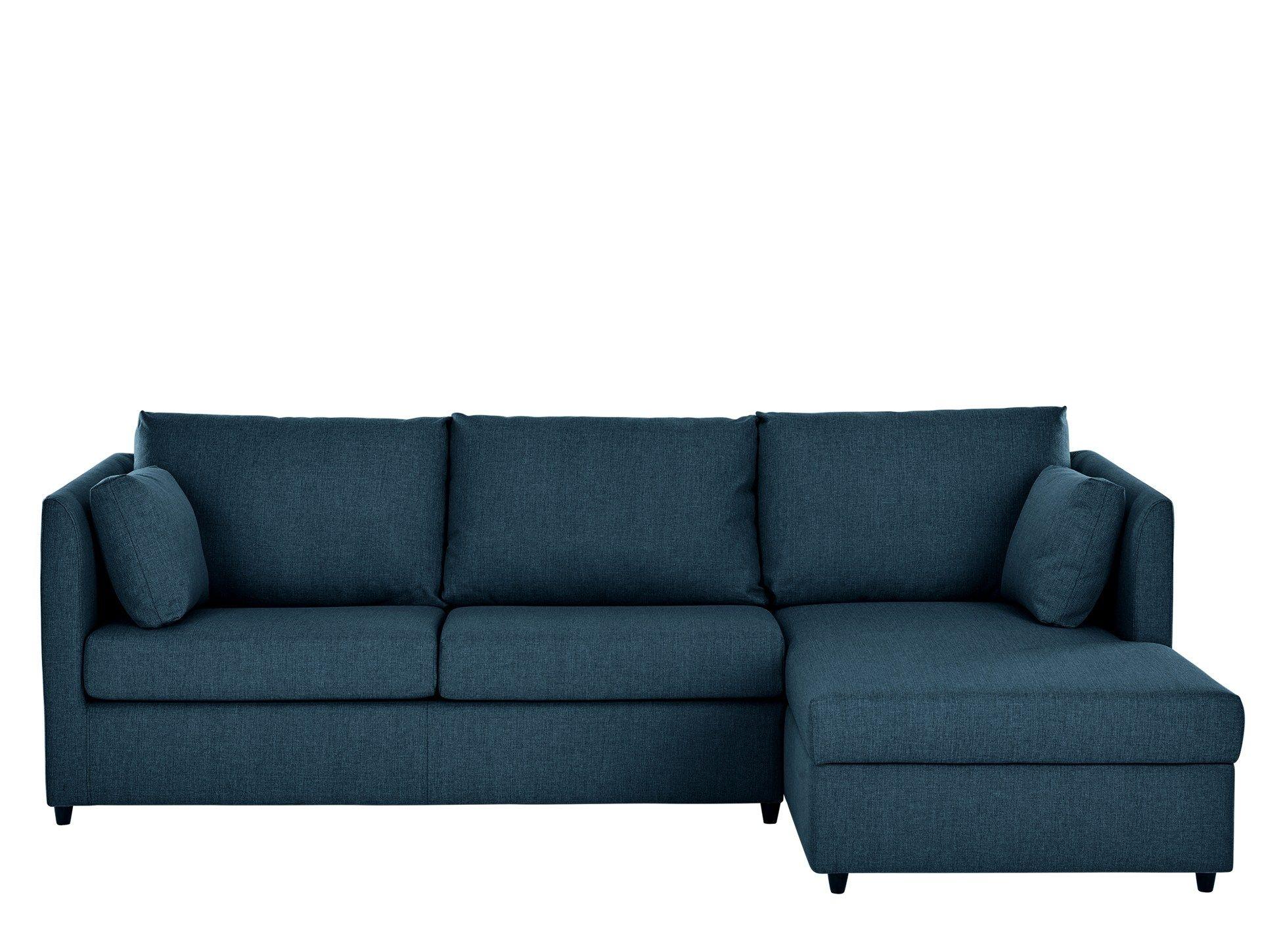 Milner Right Hand Facing Corner Storage Sofa Bed With Memory Foam Mattress Arctic Blue Sofa Bed Blue Corner Sofa Bed With Storage Sofa Bed With Storage