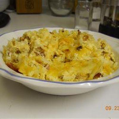 Cheesy Amish Breakfast Casserole