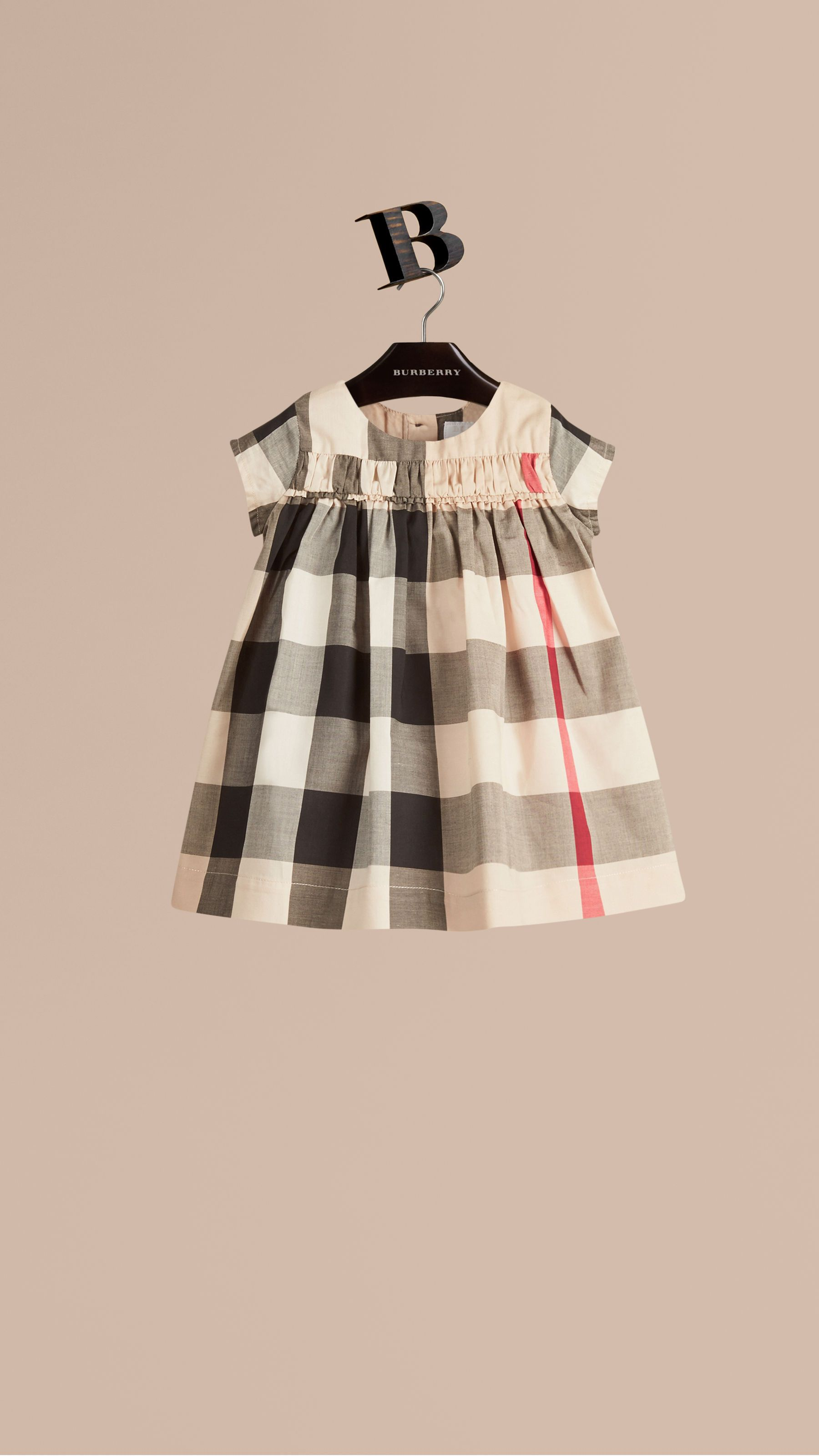 Check Cotton Dress New Classic Burberry Baby ideas