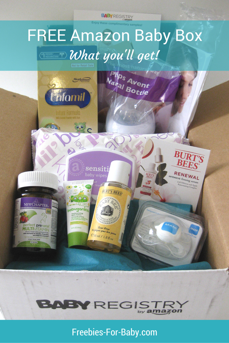 Amazon Baby Registry Welcome Box What Came Inside Amazon Baby