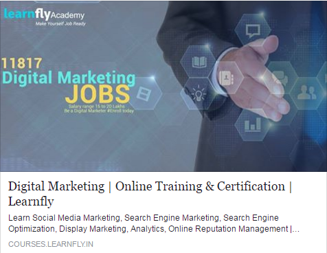Get the most comprehensive Online Training in Digital Marketing  Most Advanced Curriculum, Learn Web Analytics, PPC, Social / eMail /Content Marketing # Enrol for Digital Marketing Certification #LearnFlyAcademy #DigitalMarketingCertification