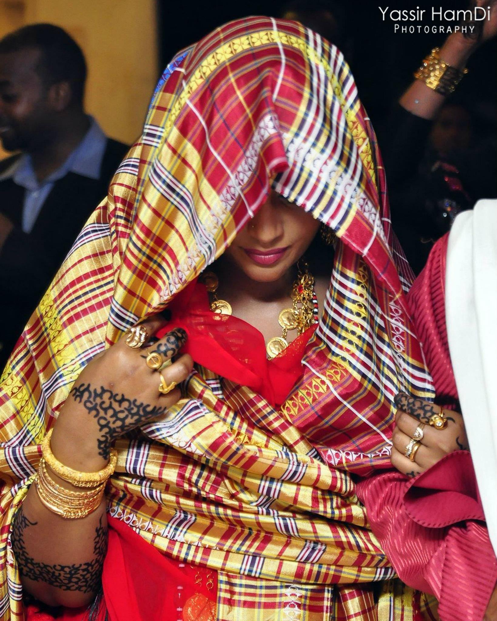 Sudanese wedding rituals and traditions - Beautifuleastafricanbrides Beautiful Sudani Bride In Traditional Attire