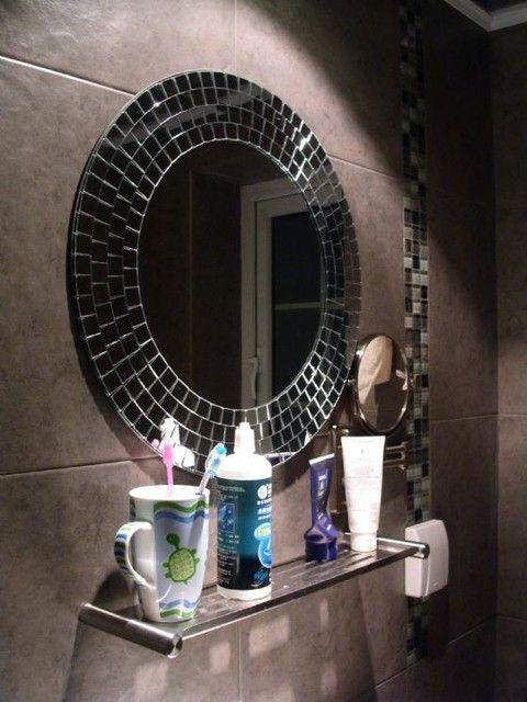 Mosaic Bathroom Mirrors Digihome