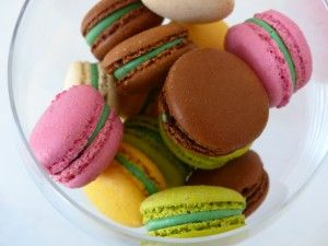 Colourful Macarons. Impressions on www.izzys-life-n-style.com