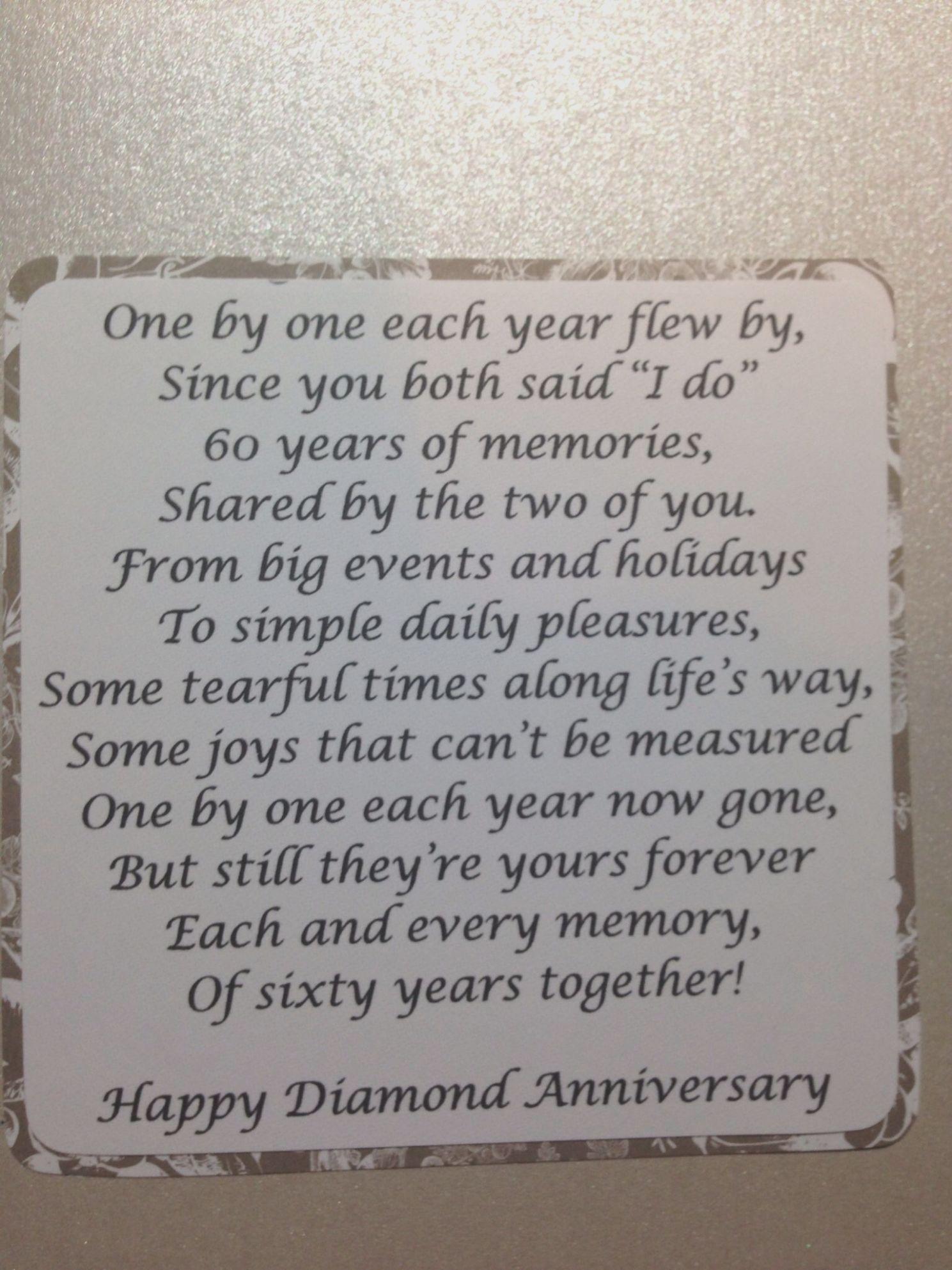 10 Card Verses For 60th Wedding Anniversary Wedding Anniversary Quotes Wedding Anniversary Poems 50th Wedding Anniversary Party