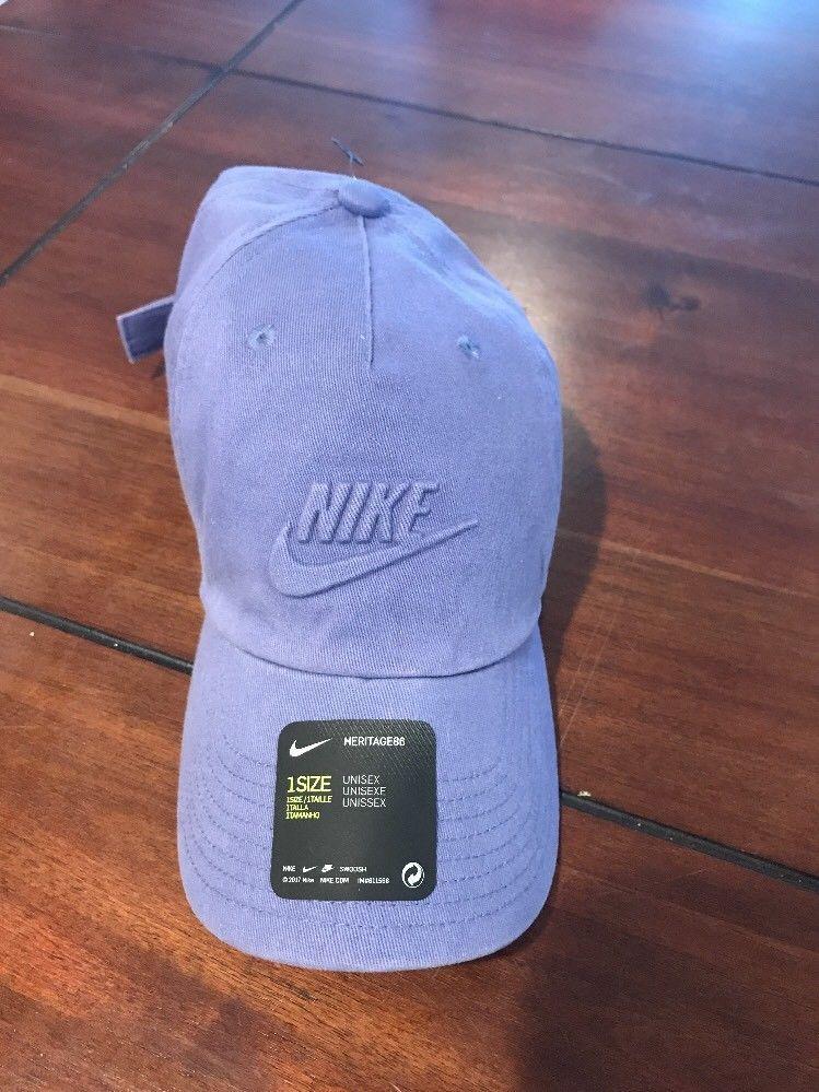322d285c7 Nike Sportswear Heritage86 Overdye Back Strap Hat Lavender Unisex ...