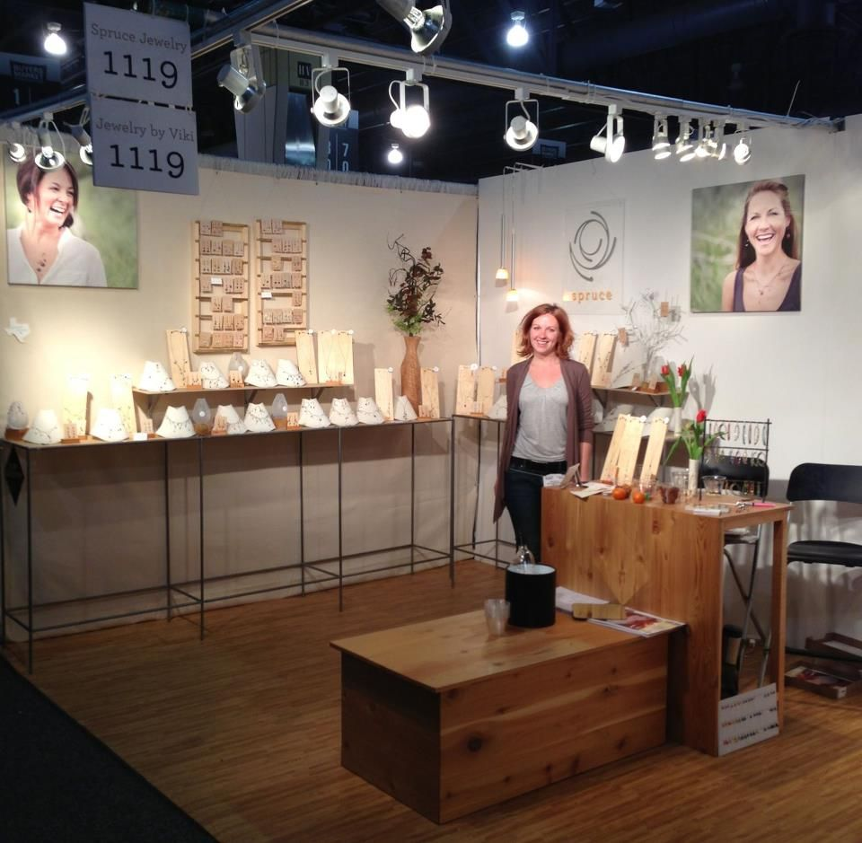 Spruce Jewelry Trade Show Booth And