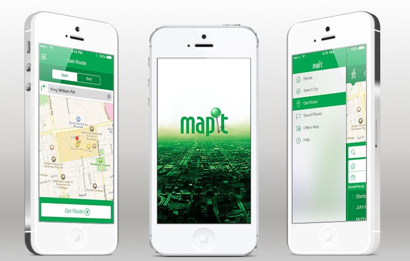 mapit app template for ios app templates for ios pinterest