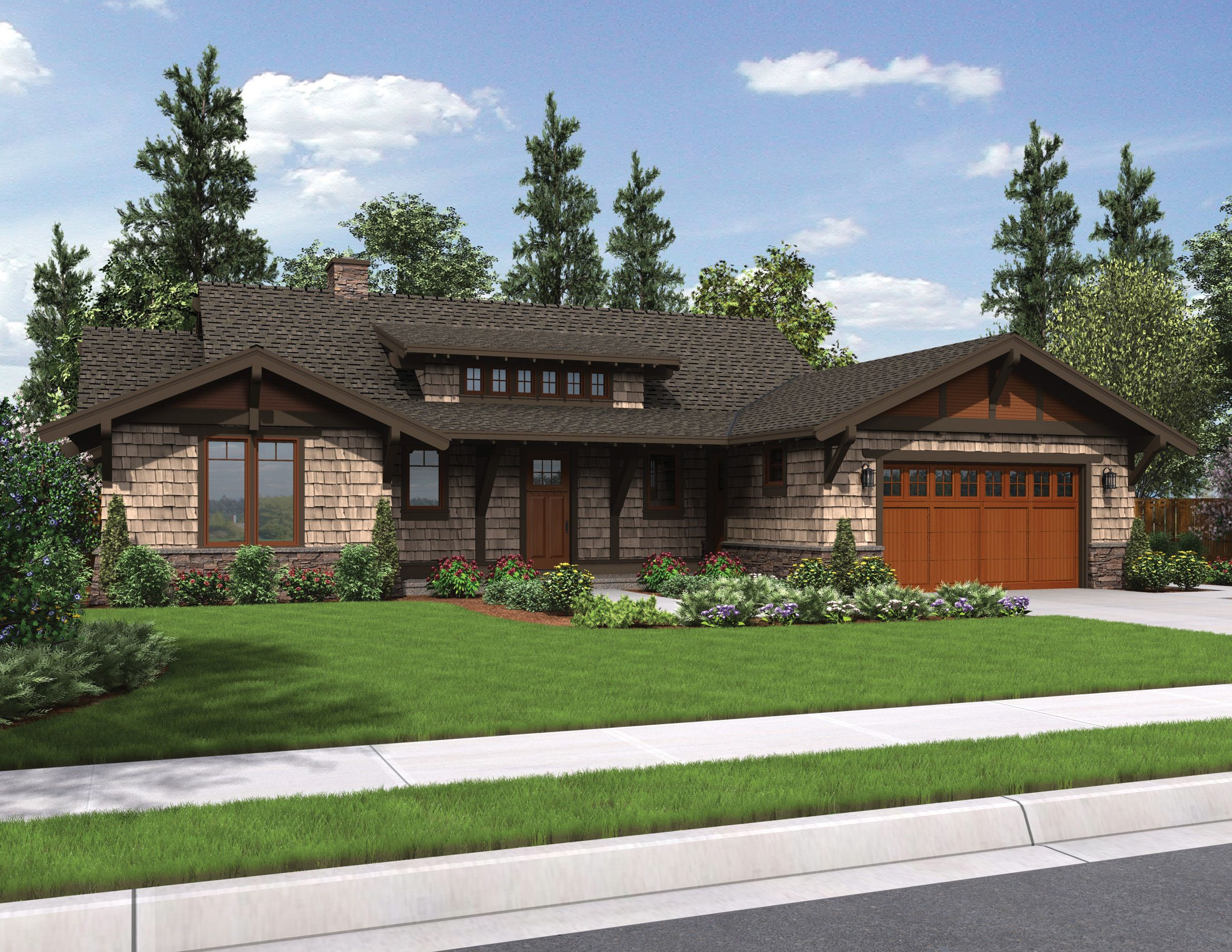 Plan 69545AM: Rustic Craftsman With Shed Dormer | Craftsman ... on remodel attic with dormer, ranch house with bay window, ranch house with basement, ranch house with flat roof, shed roof dormer, ranch house with eyebrow, ranch style home with double dormer,
