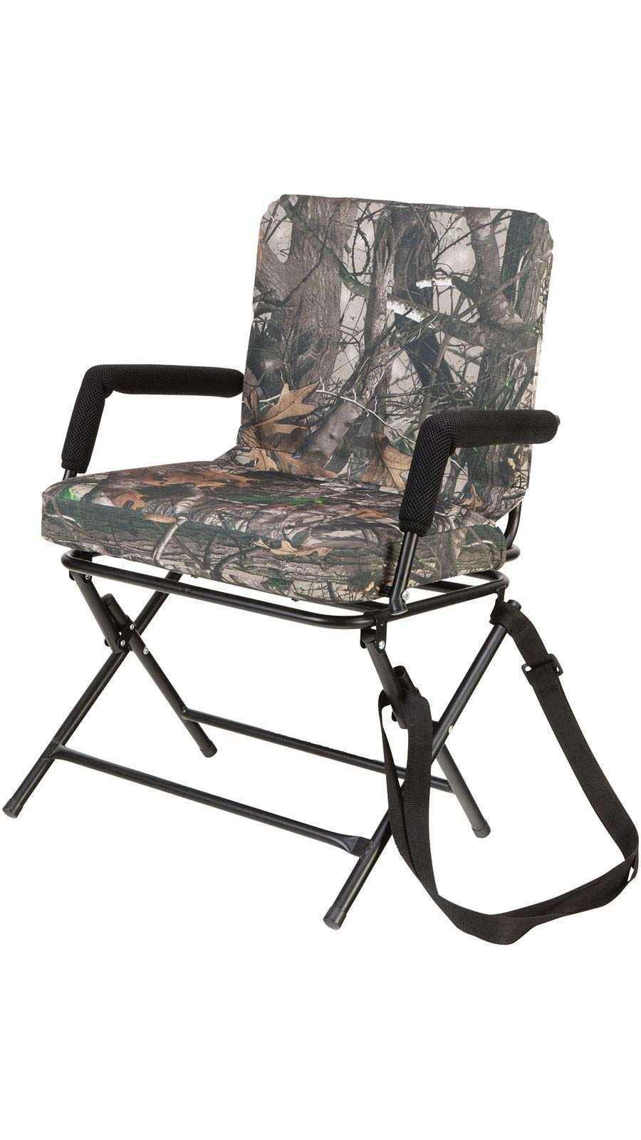 360° Swivel Chair Silent Operation Padded Hunting