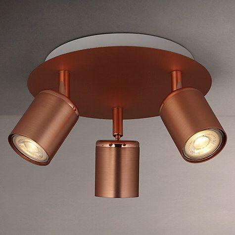 Buy John Lewis Mode Led Spotlight Plate  Light Copper From Our Ceiling Lighting Range At John Lewis
