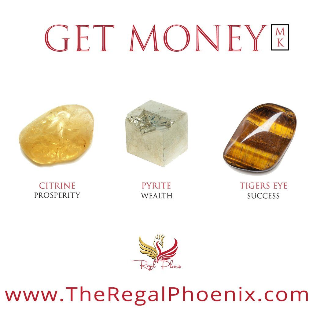 Get Money Mk Crystals For Wealth Crystal Healing Stones Crystals