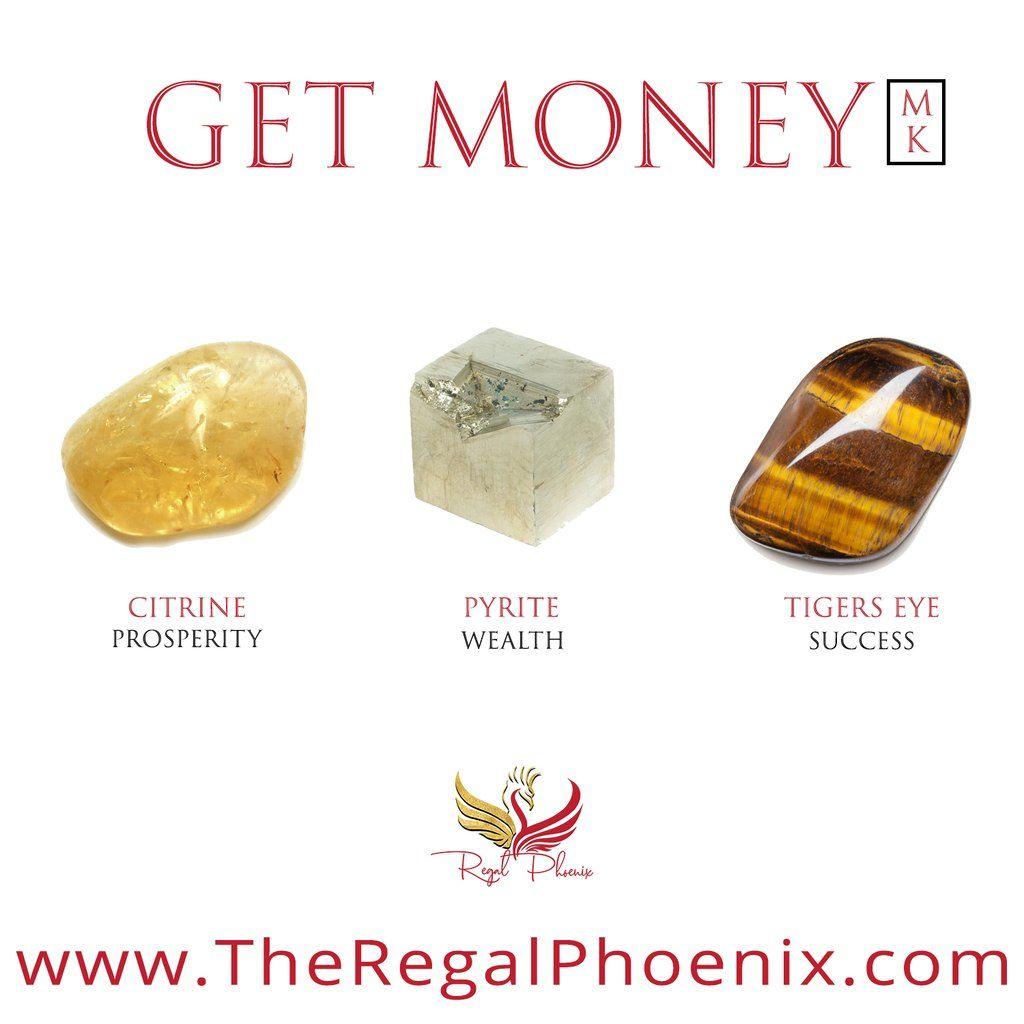 Get Money Mk Crystals For Wealth Crystal Healing Stones Crystals