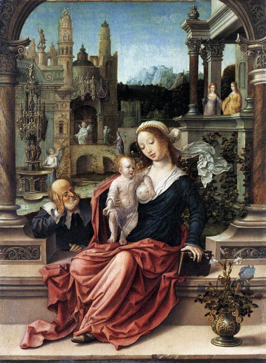 GOSSAERT Jan 'de Mabuse' - Flemish school ((Maubeuge?, ca. 1478 - 1532 Antwerpen?) ~