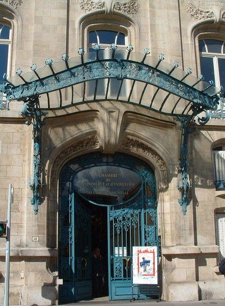 Structurae Fr Image Id 52021 Meurthe Et Moselle Chambre De Commerce Art Nouveau
