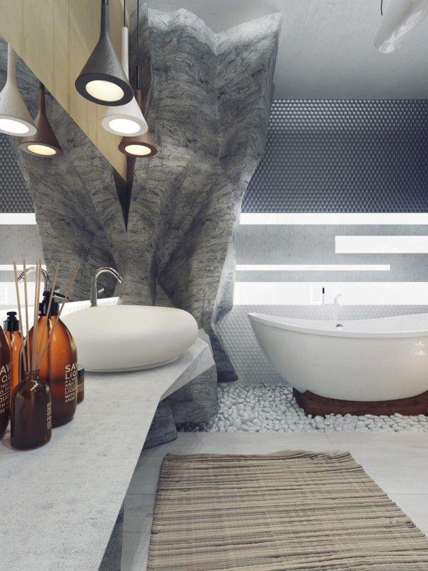 Photo via 5 luxury bathrooms in high detail home designing com