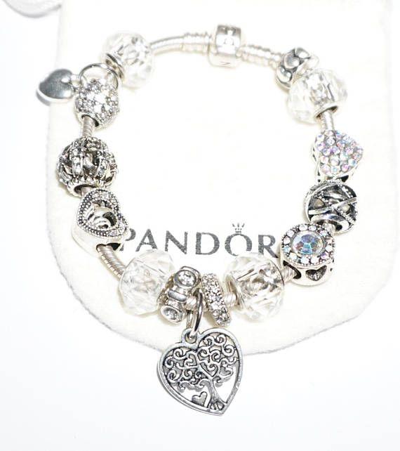 Love Family Authentic Jared Pandora Bracelet Jareds jewelers