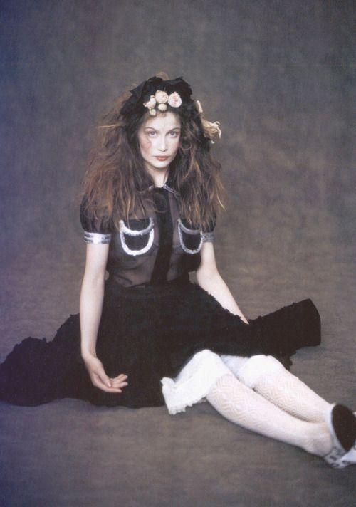 "Laetitia Casta in""Magic Beauty""by Paolo Roversi for Vogue Italia February 2005"