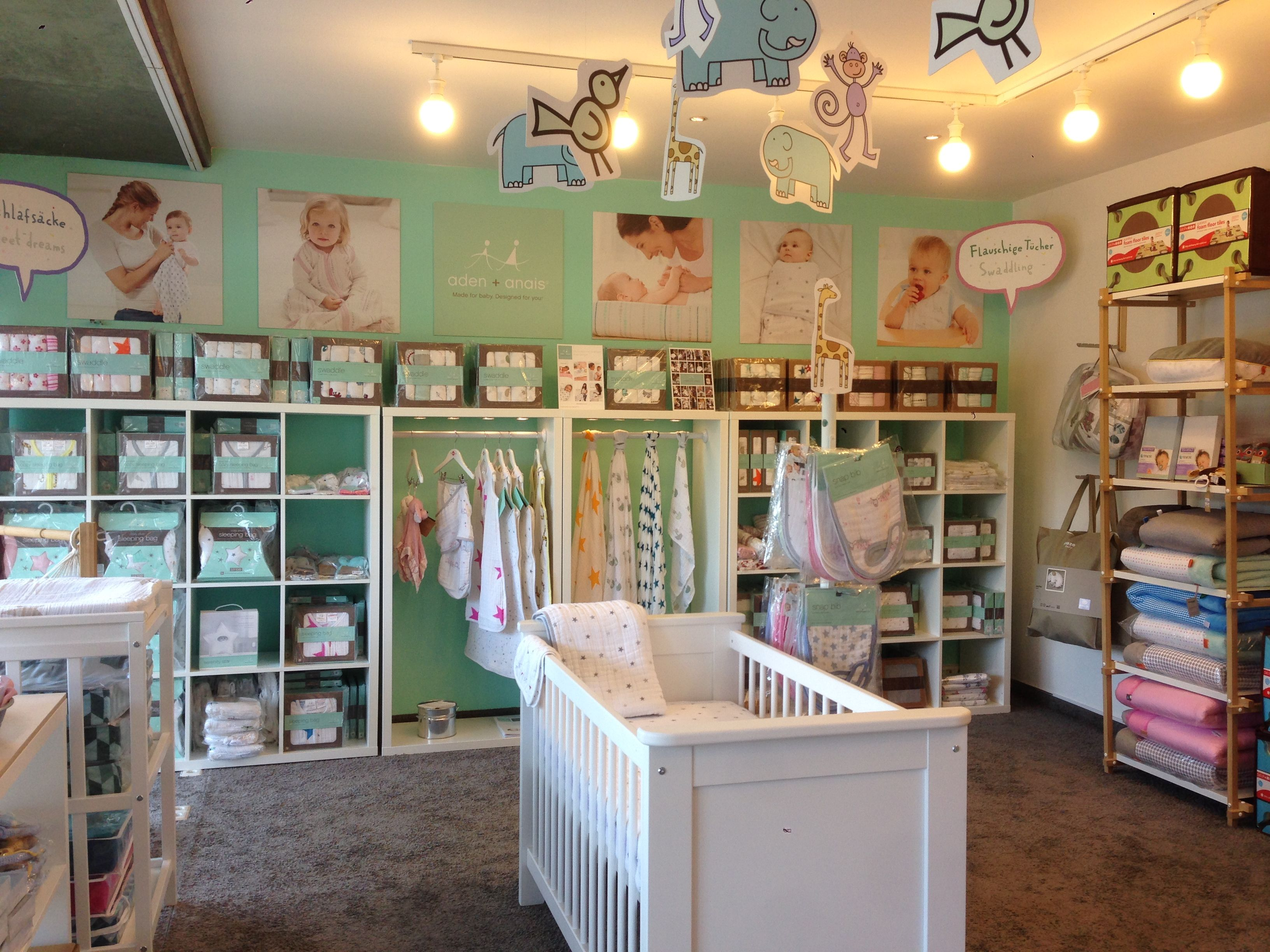 drei kse hoch have just launched a fantastic aden anais pop up shop at their store in lrrach southwest germany we think it looks great