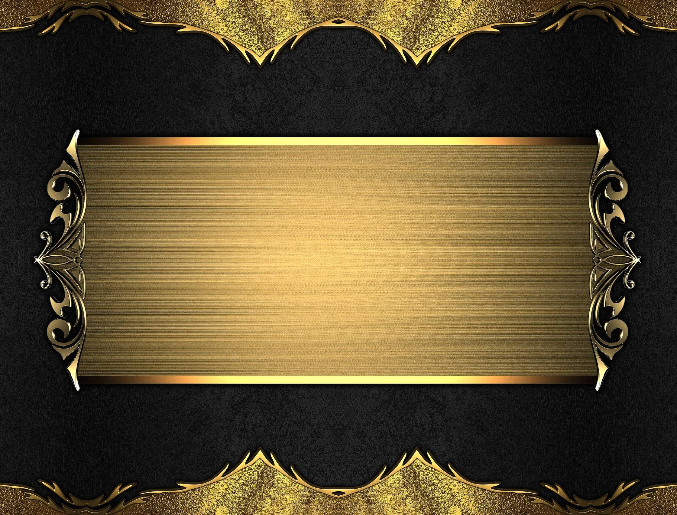Yellow And Black French Scroll Pillow Black Gold Background Wallpapersafari Gold Background Black Gold Gold Wallpaper