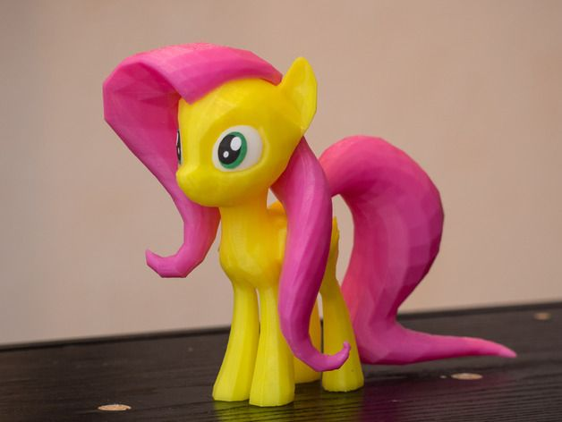 Fluttershy - MLP:FIM by plenet - Thingiverse