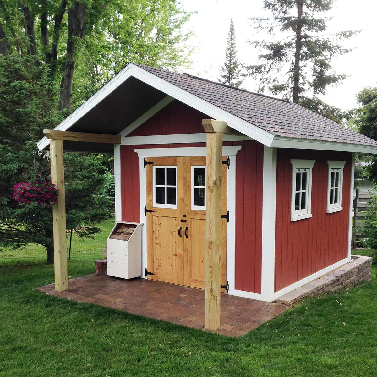 reader project: dream shed | diy outdoors | custom sheds