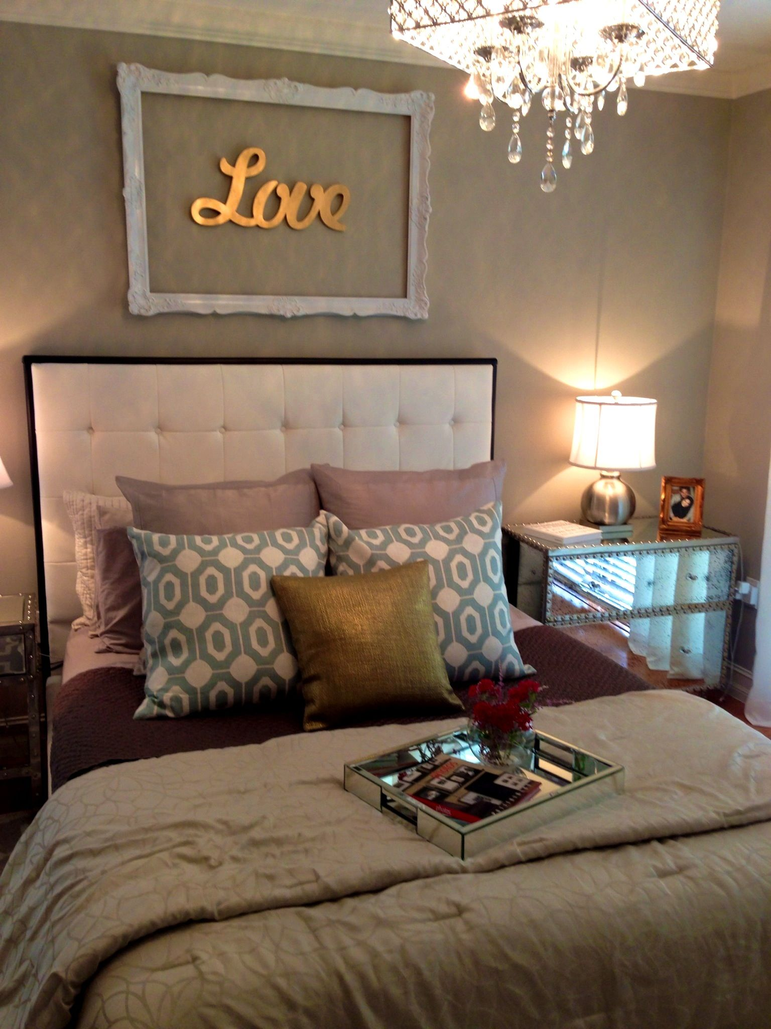 Best Comely Master Bedroom Headboards Diy And Silver White 400 x 300