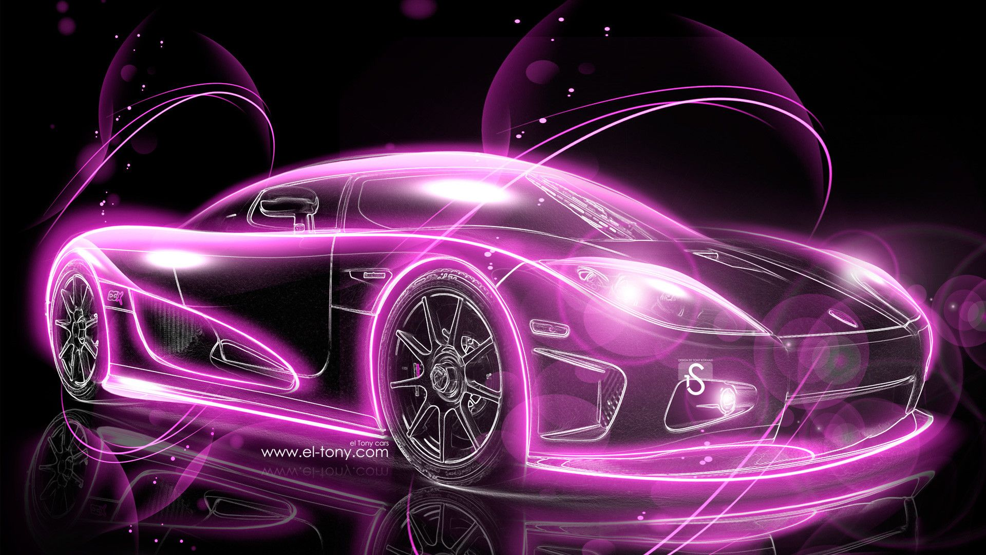 1920x1080 Great Pink Car Picture Logo Wallpaper Hd Pink Car