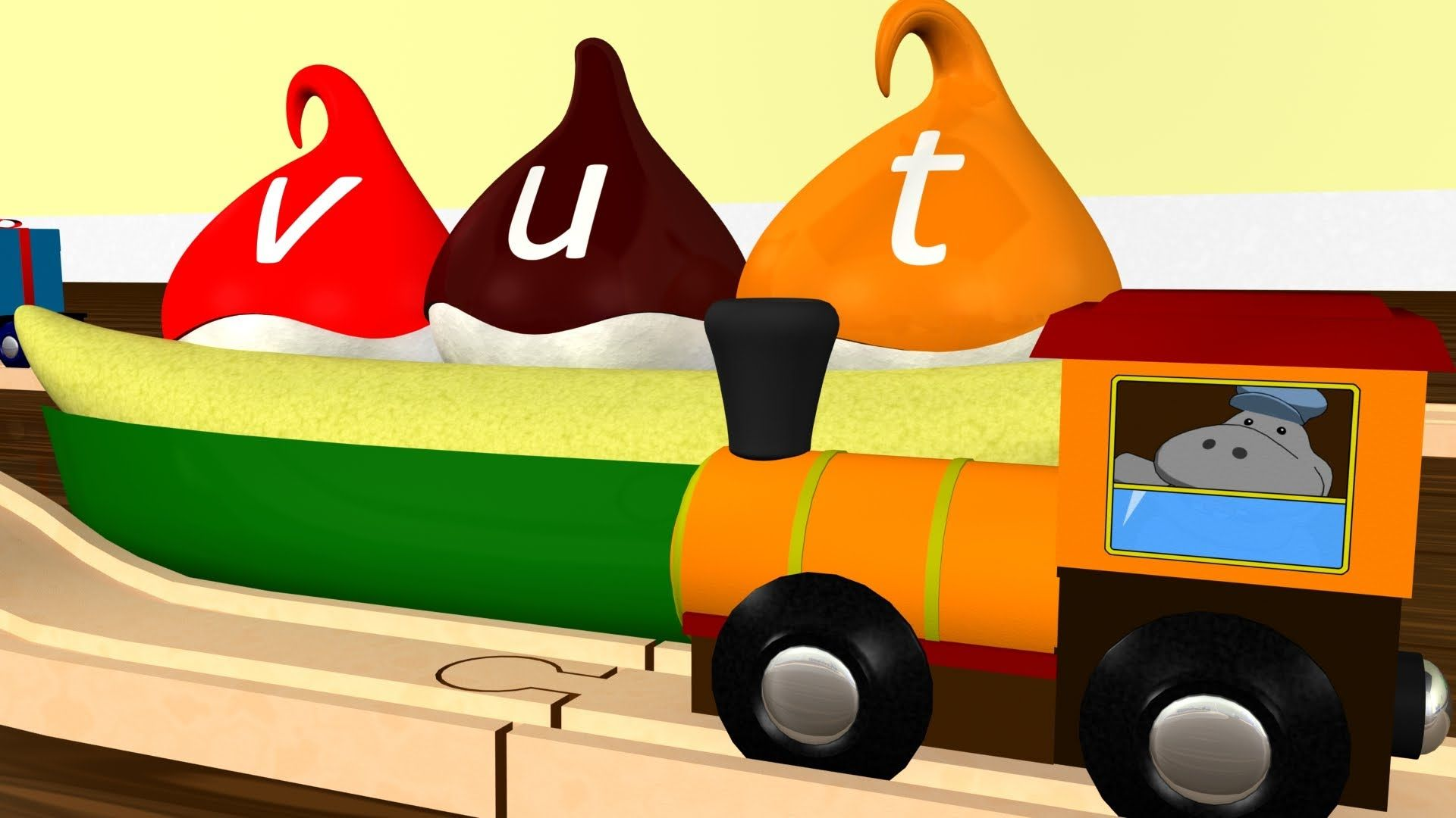 Learn lowercase letters aboard the Wooden Alphabet Train! #train #alphabet #toddlers #education https://www.youtube.com/watch?v=fMr9QAYmqLA