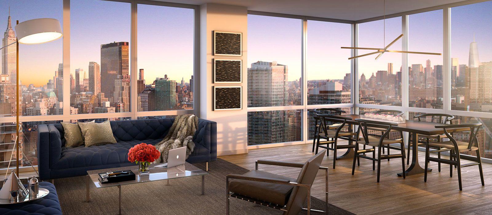 2 Bedroom Residences Manhattan Nyc Apartments For Sale Residential Apartments Condos For Sale
