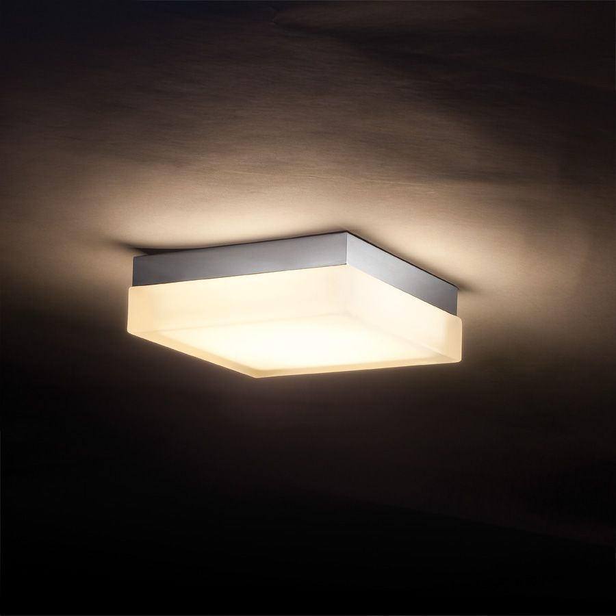Interior Cool Awesome Square Ceiling Mount Light Design