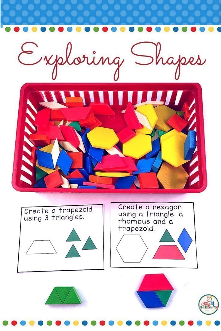 All About Flat And Solid Shapes Kinderland Collaborative