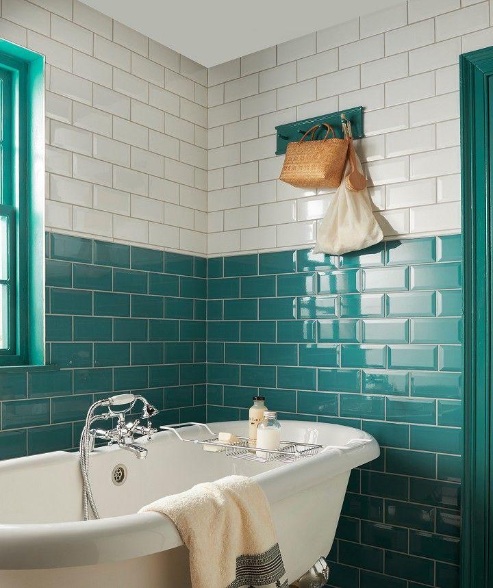 Metro Jade Tile Bathroom Wall Tile Small Bathroom Tiles Teal Bathroom