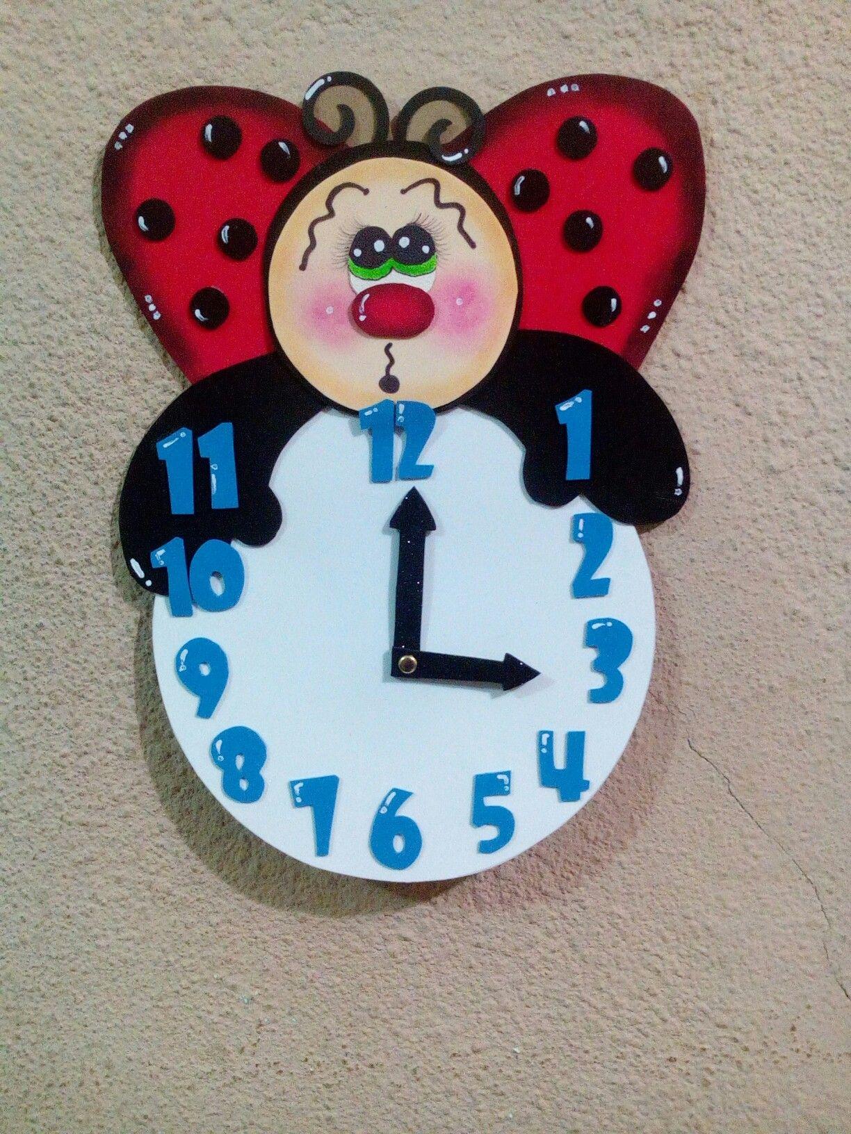 Relojes infantiles manualidades mu ecas y m s manualidades lindas manualidades y lindo - Manualidades relojes infantiles ...