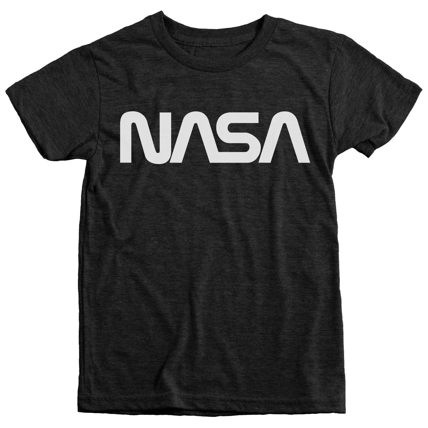 NASA Worm Logo Kids TriBlend TShirt Show your love for