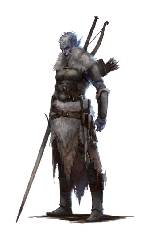 Pathfinder hobgoblin monk