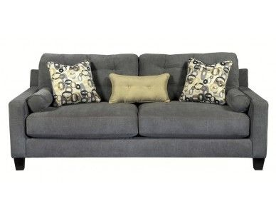 Grey Contemporary Sofa   Sam Levitz Furniture