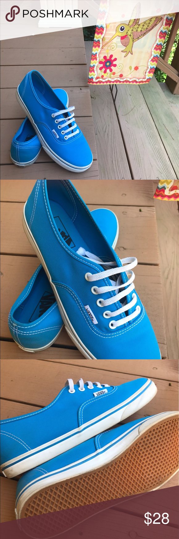 Caribbean Blue Vans | Blue vans, Vans