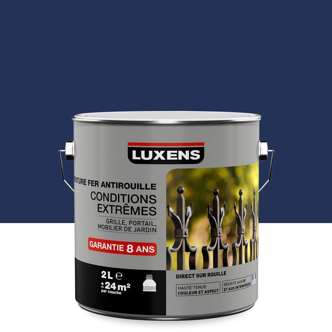 Peinture Extérieur Intérieur Luxens Bleu Brillant 2 L En