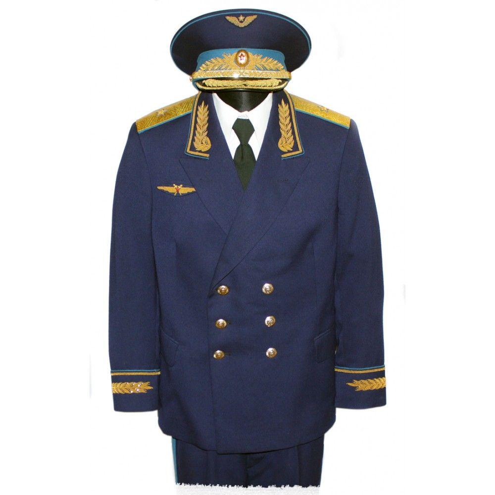 Синяя военная форма шаблон на фото