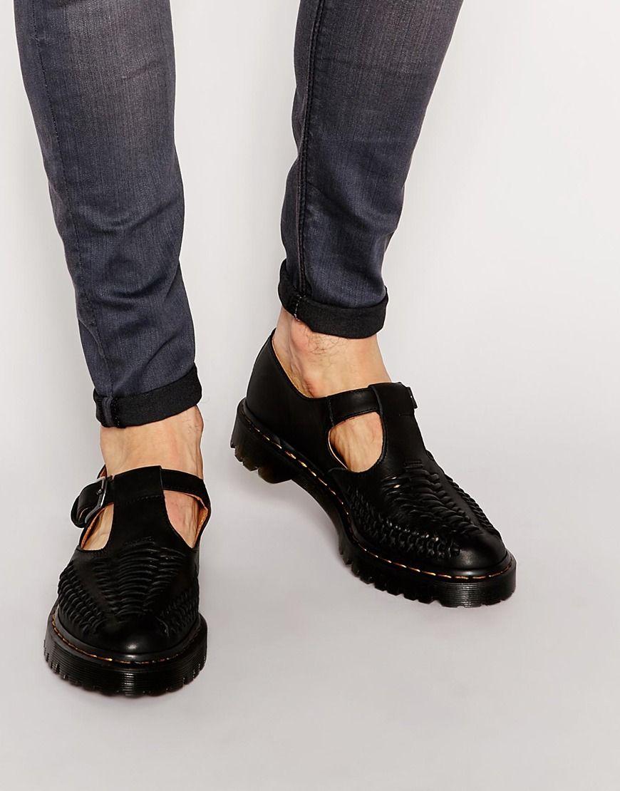 Buy Men Shoes / Dr Martens Woven T Bar Shoes