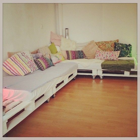 Bedrooms · Self Made Couch ...