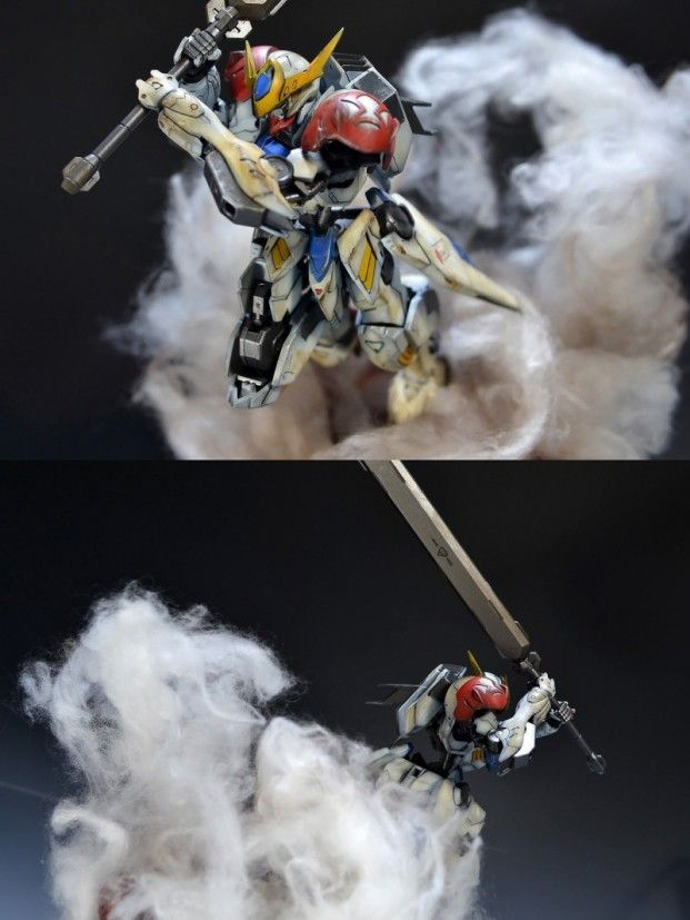 www.pointnet.com.hk - 好有動感既作品!!! 情境 HG 1/144 Gundam Barbatos Lupus