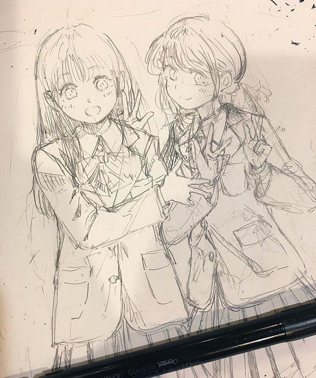Instagram media by mitsumayo_off Seni anime, Cara